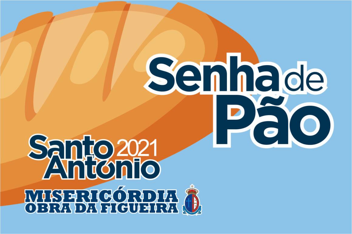 Santo António 2021 Distribuição simbólica de pães e cravos